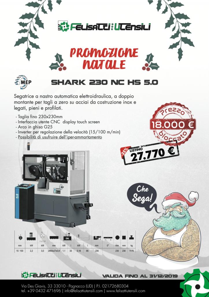 promozione MEP su segatrice a nastro shark