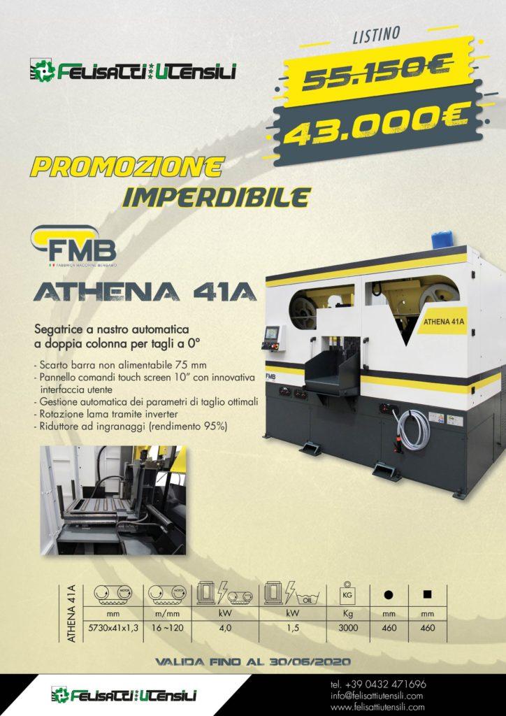 FMB segatrice a nastro ATHENA 41A felisatti utensili