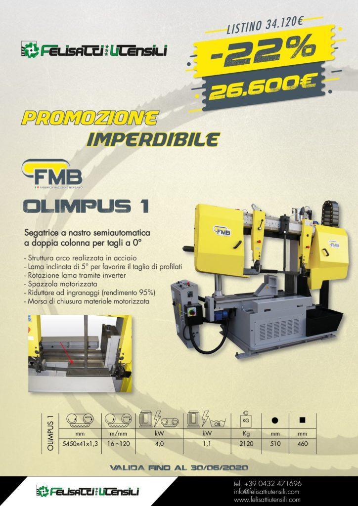 FMB segatrice a nastro OLIMPUS 1 felisatti utensili